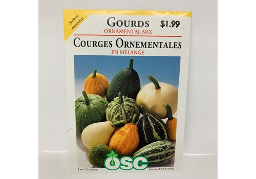 OSC Gourds Ornamental Mix