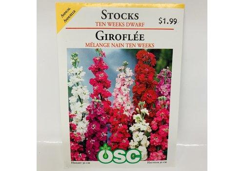 OSC Stocks Ten Weeks