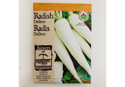 Aimers Organic Organic Radish Daikon