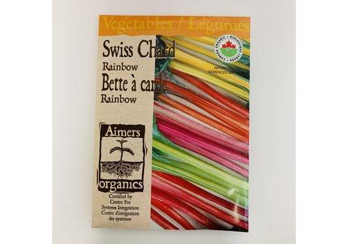 Aimers Organic Organic Swiss Chard Rainbow