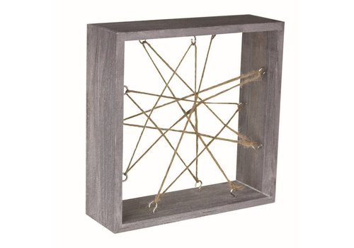 Wooden Air Plant Frame