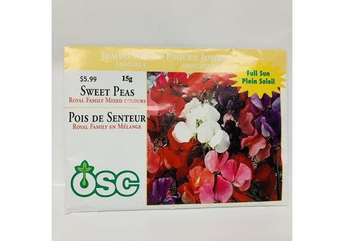 OSC Sweet Pea Royal Family Mixed Colours Jumbo Pack