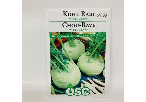 OSC Kohl Rabi White Vienna