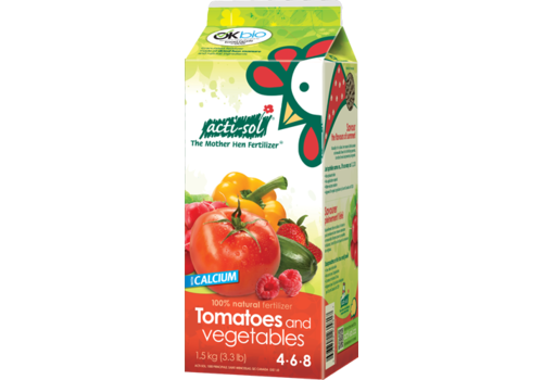 Acti-Sol Tomatoes and Vegetables 4-6-8 1.5kg
