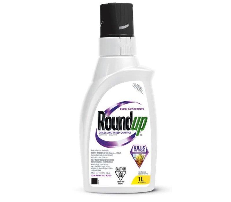 Roundup Super Concentrate Non Selective Herbicide 1L