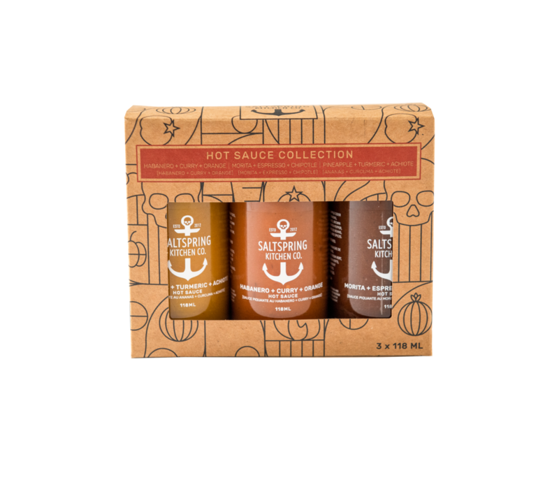 Hot Sauce Collection Gift Box 118ml