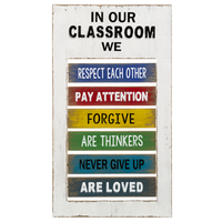 Classroom Spinning Plaque