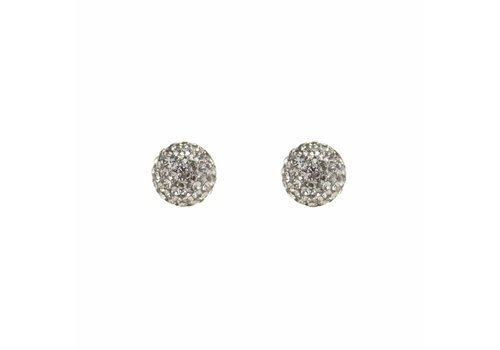 Park & Buzz Radiance Stud Charcoal