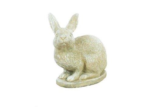 Athens Stonecasting Inc Rabbit Right Statue