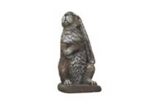 Athens Stonecasting Inc Stand Flop Rabbit Statue
