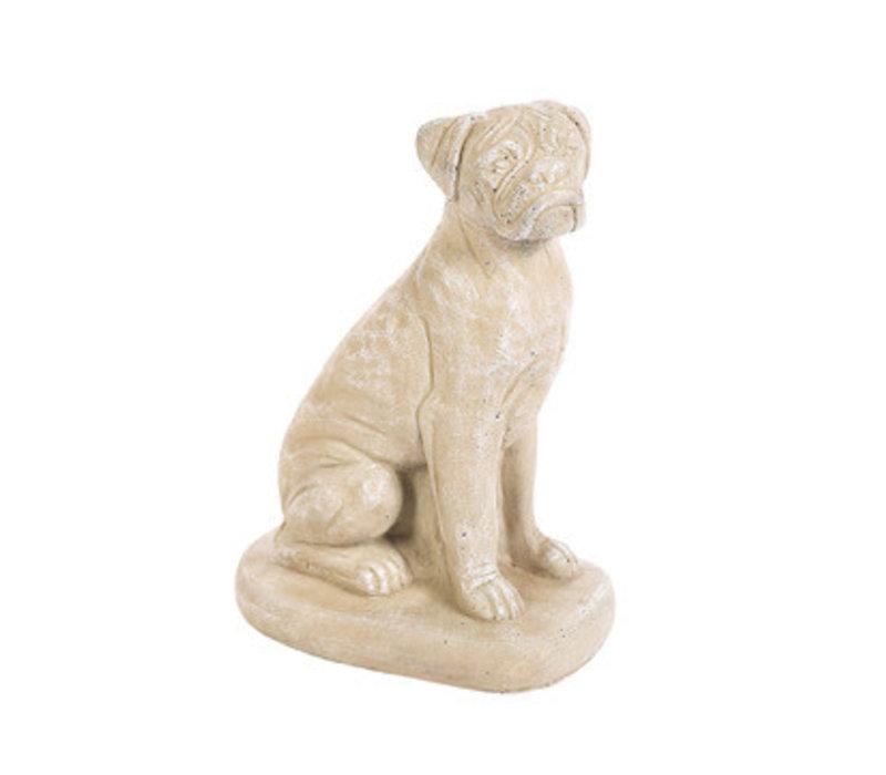 Boxer Dog Statue Small