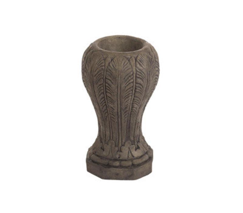 Buff Memorial Vase