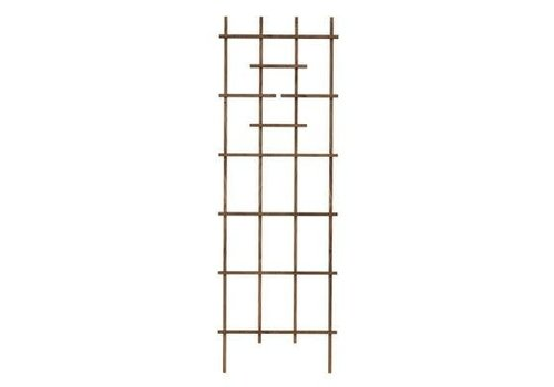 Wood Ladder Trellis Brown