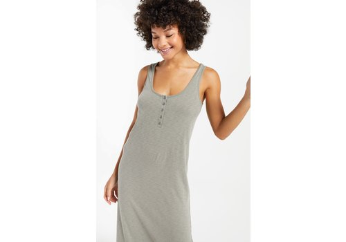 Z Supply Miley Slub Midi Dress