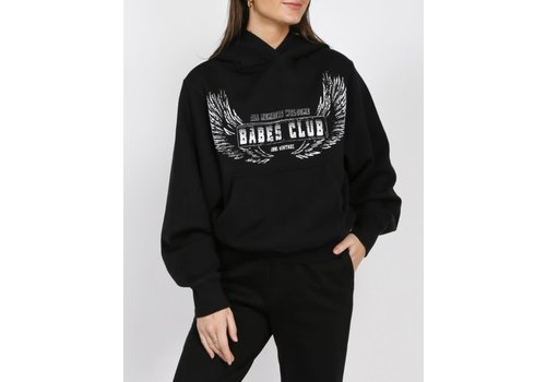 Brunette The Label Babes Club Wings Best Friend Hoodie