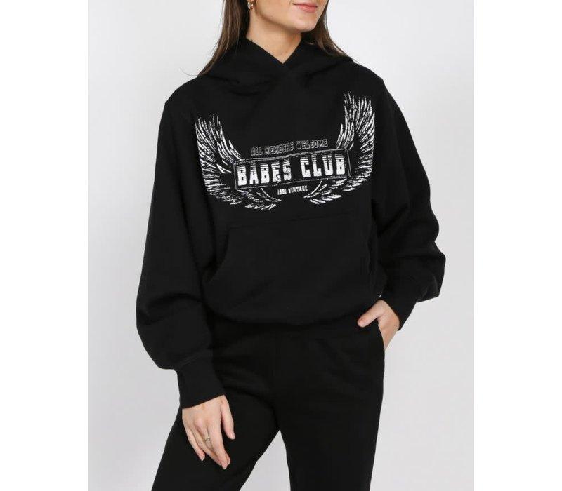 Babes Club Wings Best Friend Hoodie