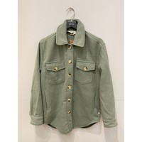 Solid Button Up Woven Coat