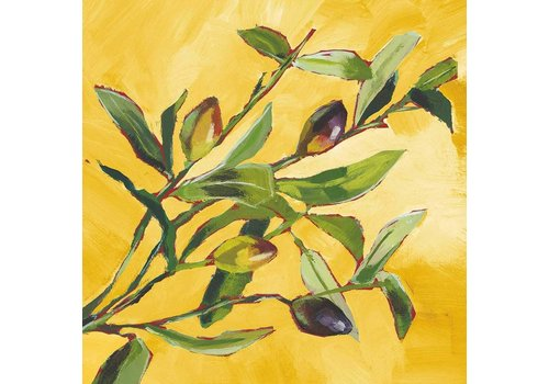 Lunch Napkin Olive Musee