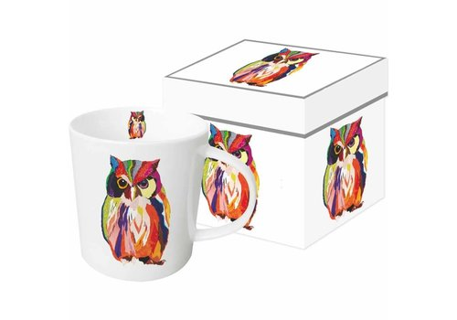 Mug In Gift Box Leros Owl