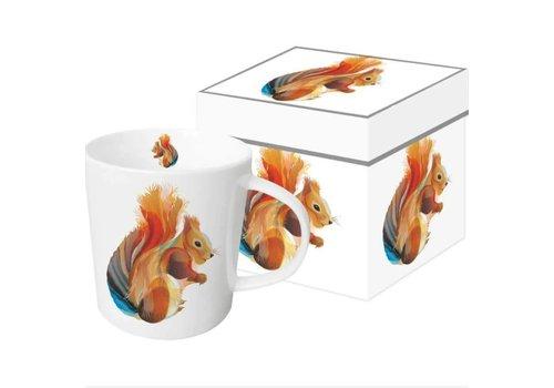 Mug In Gift Box Leros Squirrel