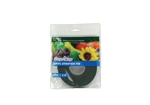 Rapiclip Vinyl Stretch Tie 150'X1/2'