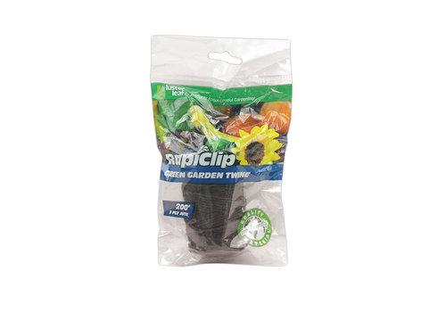 Rapiclip Garden Twine Green 200'