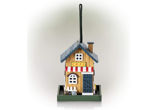 Alpine Corporation Cafe House Bird Feeder