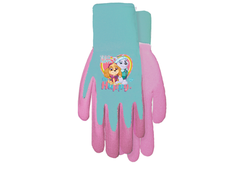 Midwest Quality Paw Patrol Grip Gloves Pink