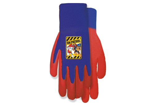 Midwest Quality Paw Patrol Grip Gloves Blue and Red