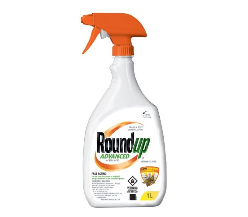 Roundup Advanced RTU Grass and Weed Control 1L