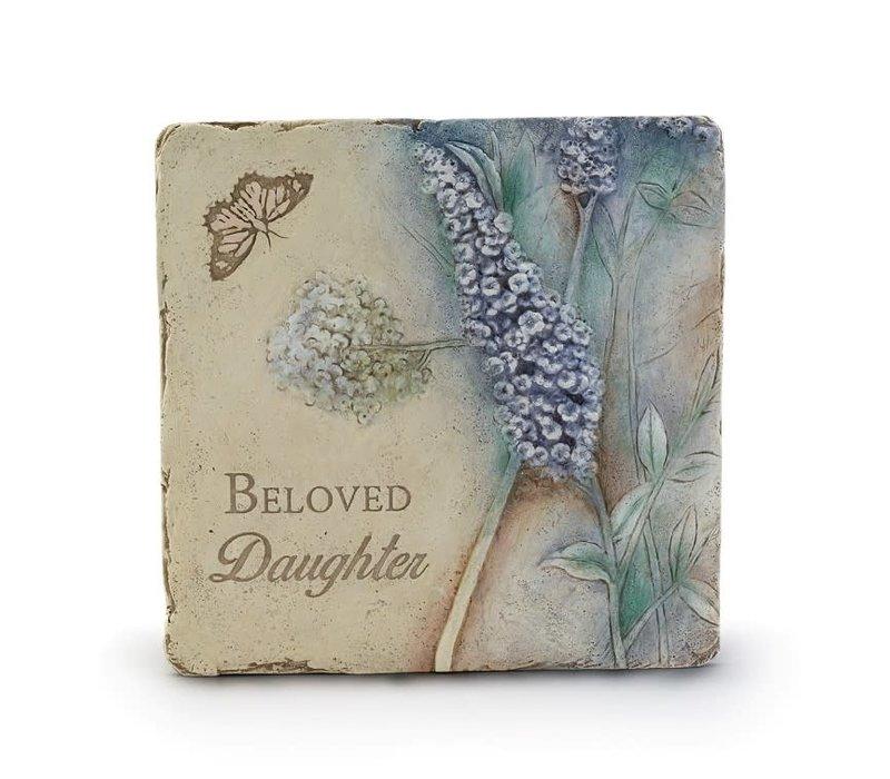 """Beloved Daughter Plaque 9.5"""""""