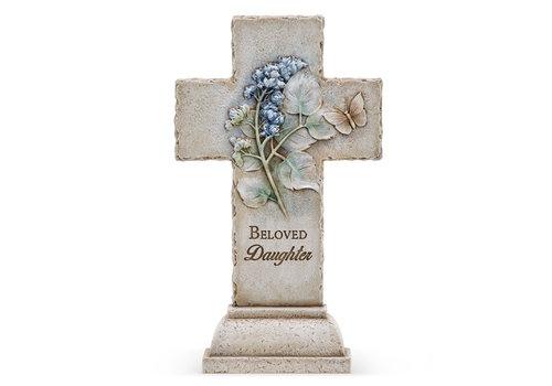 """Beloved Daughter Cross 12.25""""x7.25"""""""