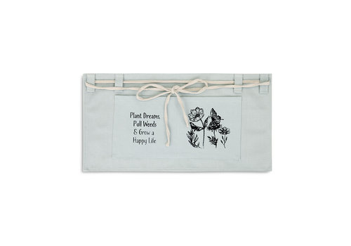 "Pull Weeds Apron Grey 12""x24"""