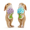 Bunnies With Bouquets