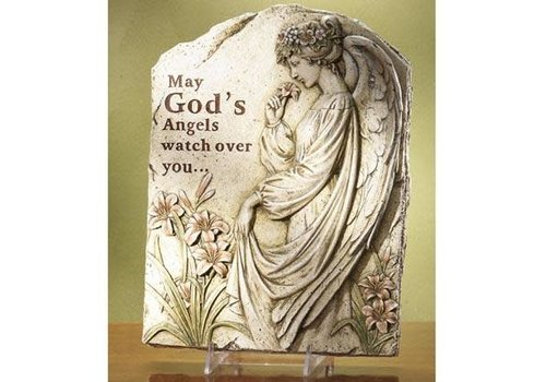 """Large Angel Stepping Stone 16.5""""x12.75"""""""