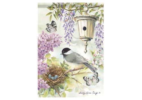 Garden Flag Chickadee Birdsong