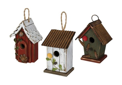 Mini Birdhouse Assorted