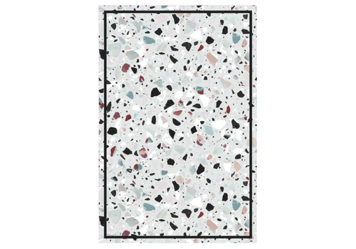 Speckled Rectangle Vinyl Mat