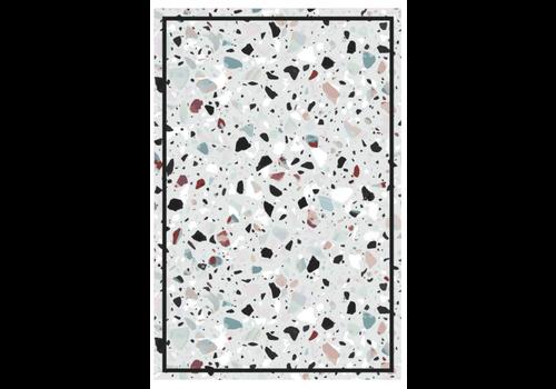 Speckled Rectangle Vinyl Mat