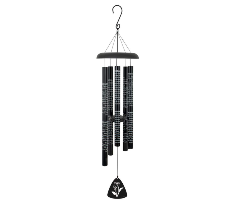 Black Sonnet Chime Comfort & Light 30""