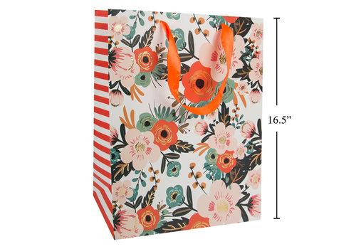 Floral Gift Bag Jumbo