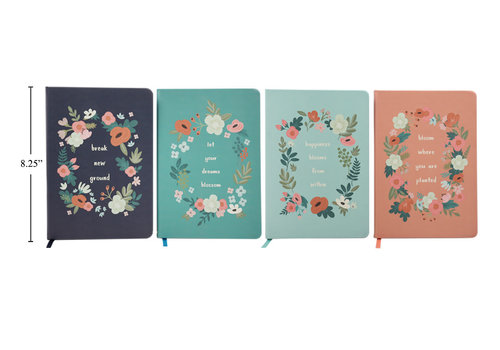 Botanica Text/Print Notebook