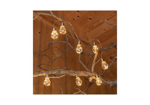 Kaemingk Micro LED Solar String Lights Warm White 50L