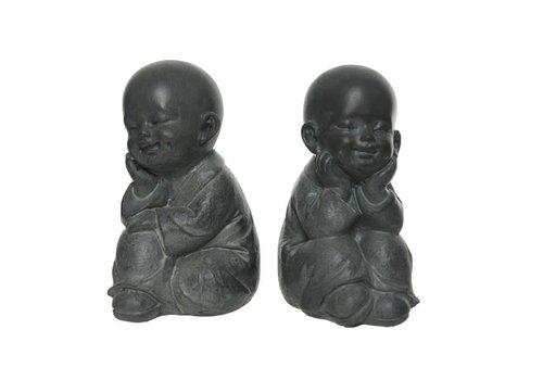 Monk Sitting Anthracite