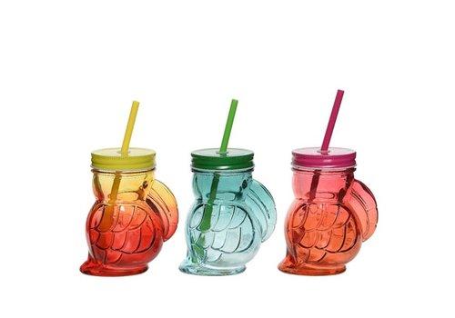 Toucan Drinking Jar