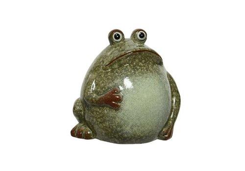 Frog Glazed Terracotta