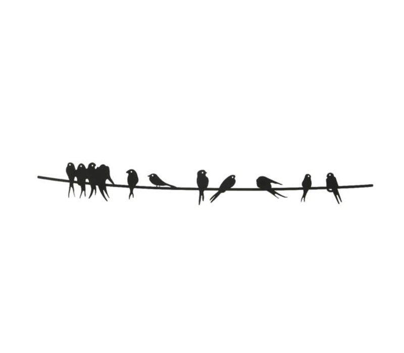 Birds On Wire Wall Decor