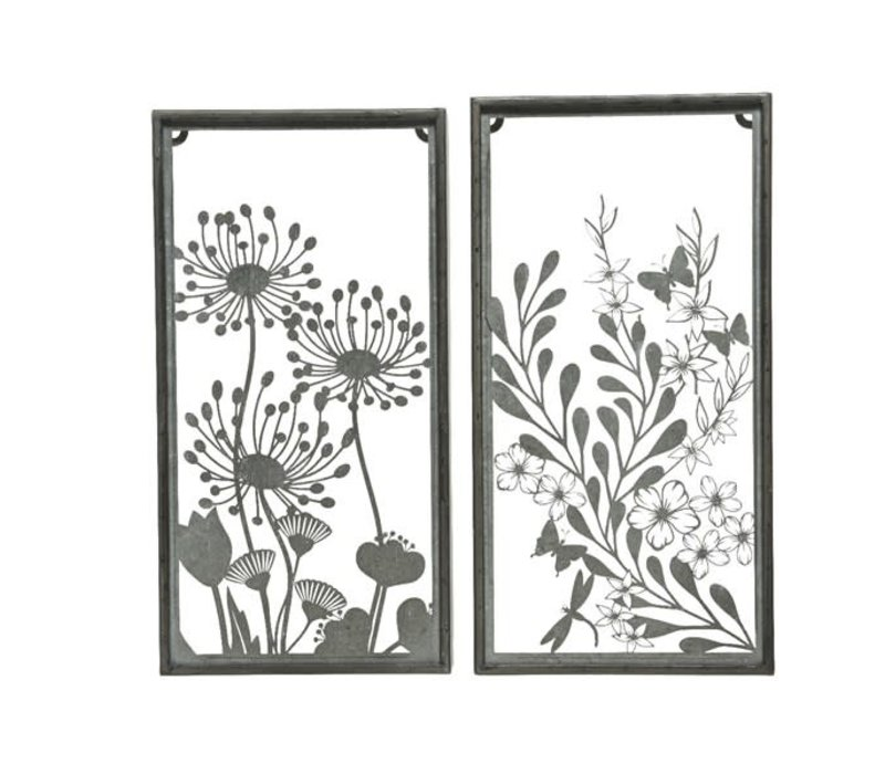 Cut Out Zinc Wall Decor