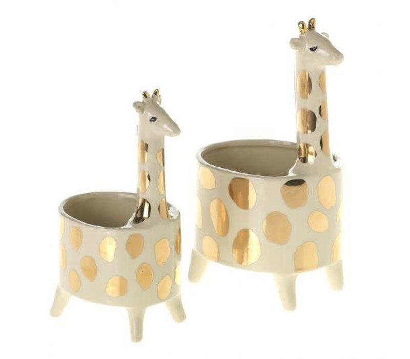 Giraffe Pot