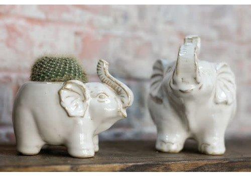 Accent Decor Elephant Pot